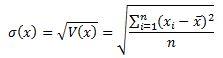 Calcul de la volatilite forex
