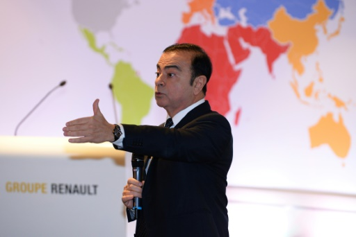 Le salaire de Carlos Ghosn en question devant les actionnaires — Renault