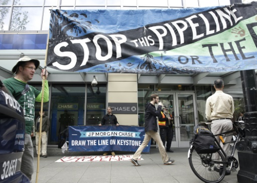 La justice américaine suspend la construction de l'oléoduc controversé Keystone XL